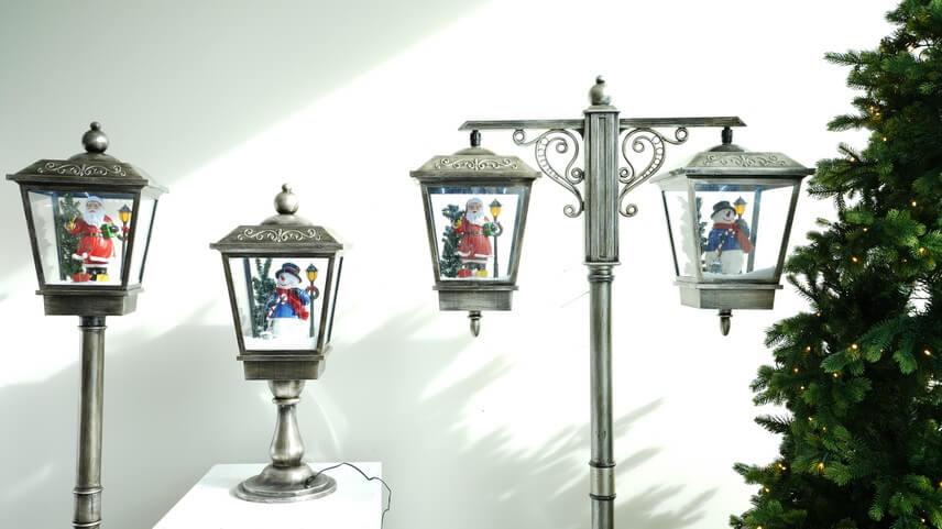 Lanternes enneigées